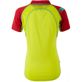 La Sportiva Forward Shortsleeve Shirt Damen sulphur/berry